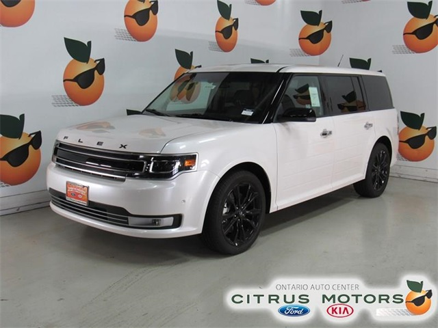 New 2018 Ford Flex Limited 4d Sport Utility In Ontario